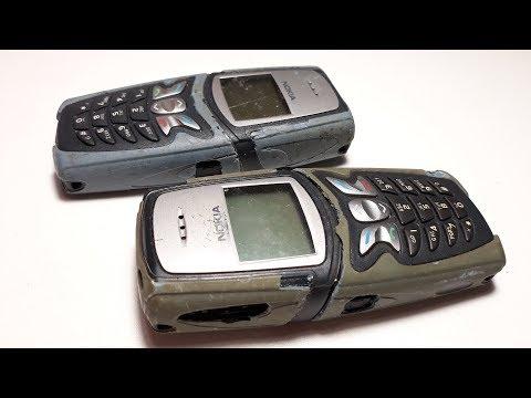 Restoration old Nokia 5210 phone   Restore broken mobile phone Вторая жизнь ретро телефона