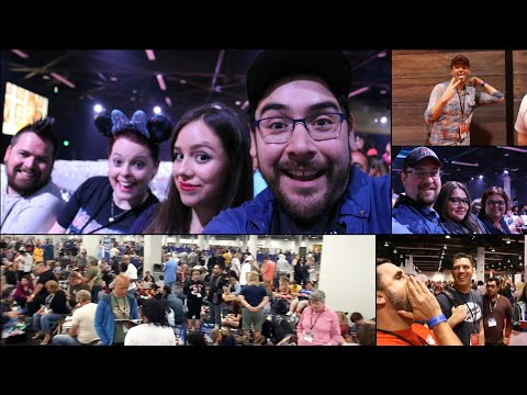 "Disney Legends and Animation Panel Review and Collider Video Crew ""Meet up"" - D23 Expo Friday VLOG"