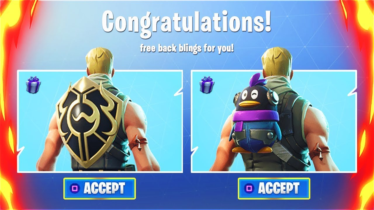 Fortnite Free Back Bling Penguin | Free V Bucks Buckfort