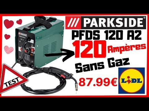 ⚠️ Nouveau Poste Fil Fourré PARKSIDE 120 AMPÈRES ⚠️ PDF Réglages En Description ⚠️