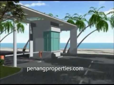 Penang million dollar beachfront property - Infinity condo, Tanjung Bungah Penang