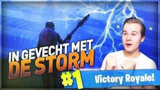CONSTANT IN GEVECHT MET DE STORM!! - Fortnite Battle Royale (Nederlands)