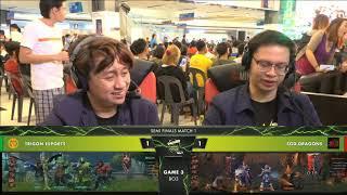 SG Dragon vs TRIGON |Game 3 Best of 3|Dota2 Semi-Finals|Thunder Esports Tour Grand Finals