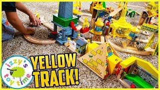 The Most YELLOW Thomas and Friends Track EVER MADE!