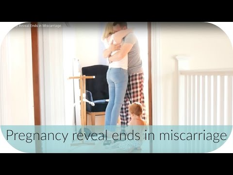 Pregnancy Reveal Ends in Miscarriage