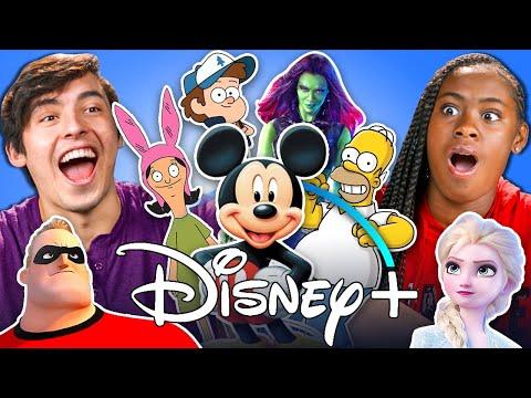 Generations React To Every Disney Movie Ever Made (Disney+)