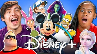 Download Generations React To Every Disney Movie Ever Made (Disney+) Mp3 and Videos