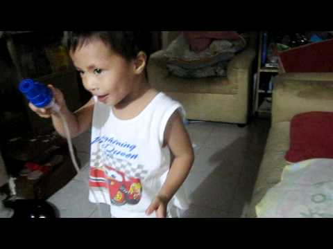 nebulization with singing and dancing!