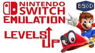 Switch Emulation Levels Up | Mario Odyssey Booting + MORE