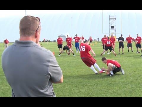 Kicking Combine   NFL Prospects   2015 Kohl's Pro Combine