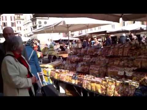 Campo de Fiori Market  / Rome, Italy