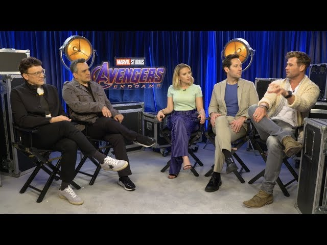 Avengers: Endgame – In Conversation With Cast & Crew