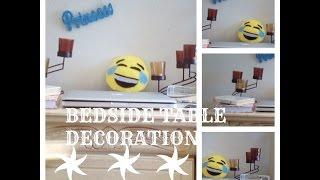 Bedside Table Decoration