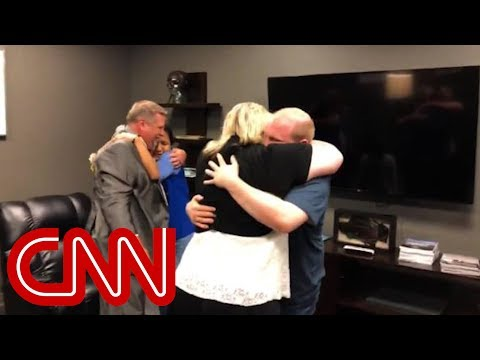 Freed American prisoner back on US soil