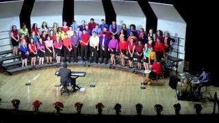 Des Moines Roosevelt Winter Concert 2015 - Bridges 2 Harmony