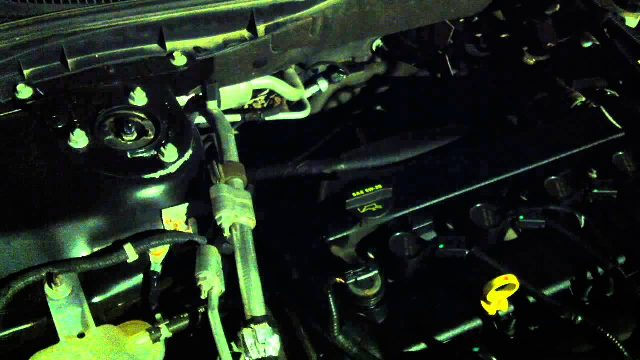 2010 Ford Fusion Engine Noise