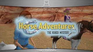 Barbie Horse Adventures : The Ranch Mystery (part 2) (Horse Game) (Suomen Kieli)