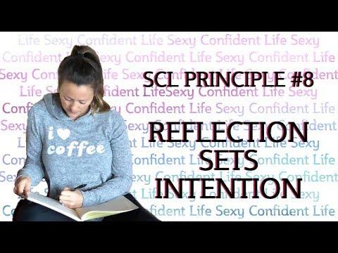 Principle #8: Reflection Sets Intention