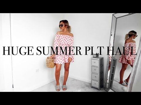 539021933d HUGE PRETTY LITTLE THING HAUL SUMMER 18    Try-on   Styling