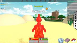 Roblox ? Pokemon Fighters EX Con lowmegarayquaza
