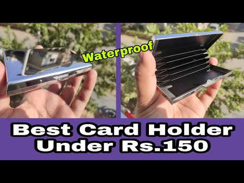 Flipkart Smartbuy Waterproof Card Holder| Unboxing And Review
