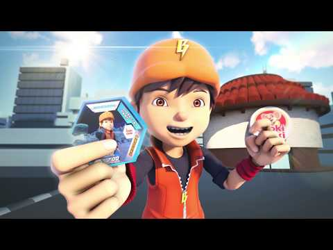 Boboiboy Galaxy Augmented Reality Card Choki-choki