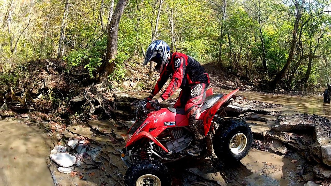 Trail Riding Big Rock ATV Park Maysville Kentucky Honda trx250x