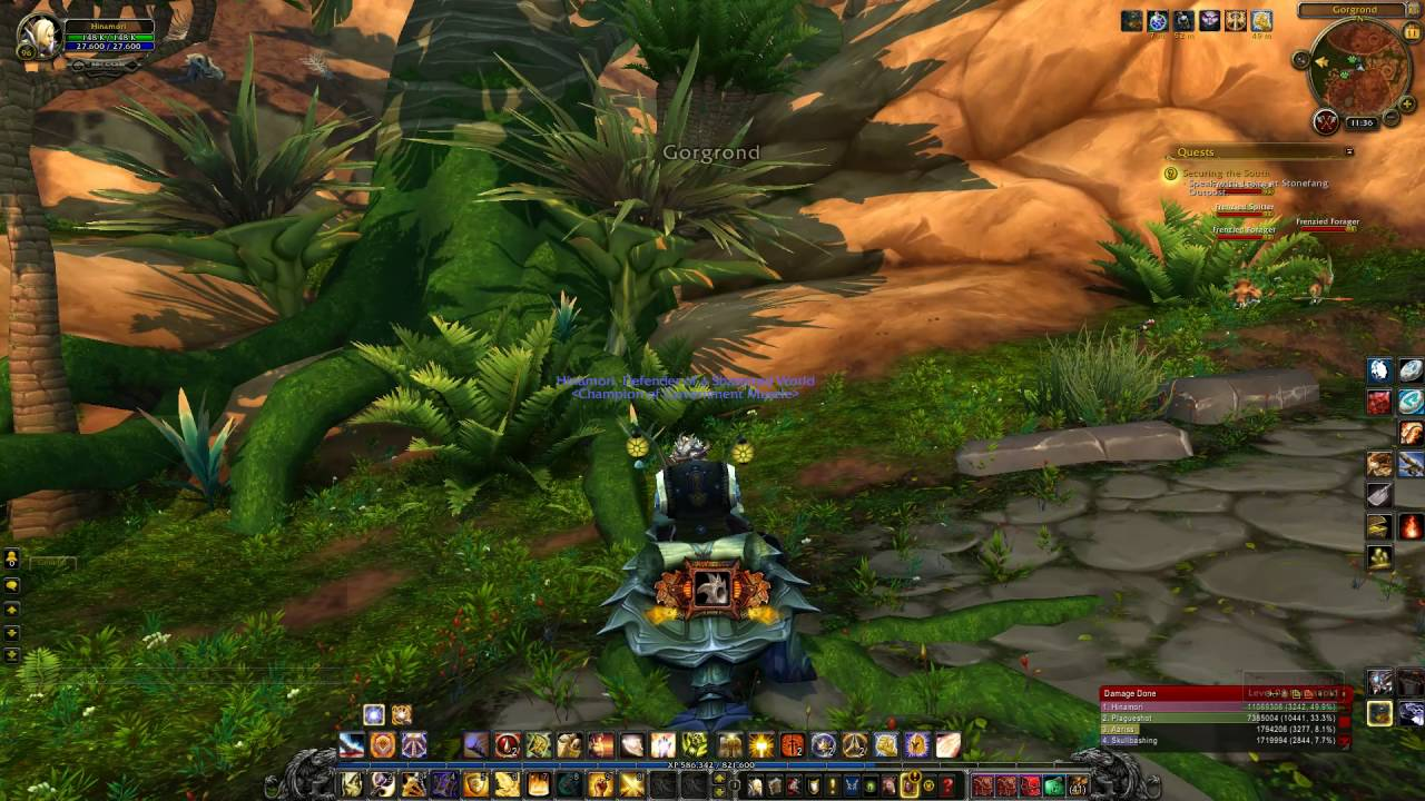 World of Warcraft Warlords of Draenor Level ups with XP potion