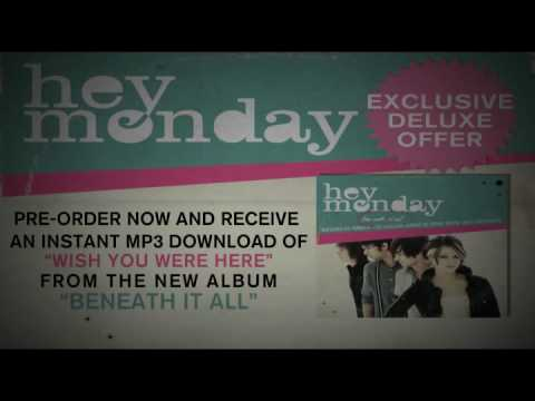 Hey Monday - Wish You Were Here Official Lyric Video