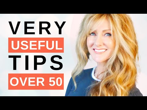 35 Incredibly Helpful LIFESTYLE Tips For Mature Women Over 50!