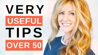 35 Incredibly Helpful LIFESTYLE Tips For Mature Women Over 50 !