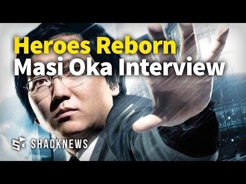 Heroes Reborn Masi Oka Interview
