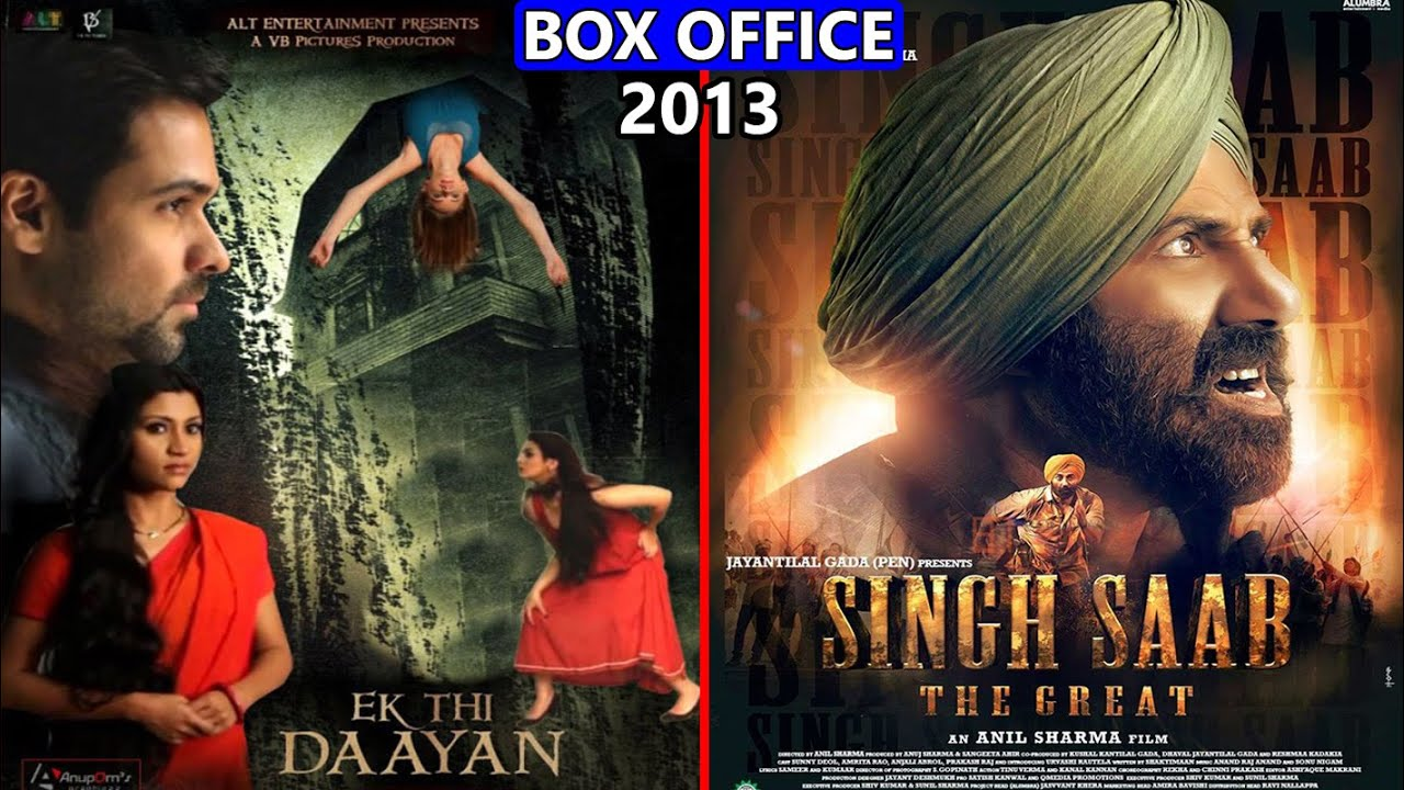 Download Ek Thi Daayan vs Singh Saab The Great 2013 Movie Budget, Box Office Collection, Verdict and Facts