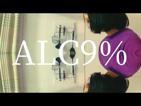最果テルーティン『ALC9%』Official Lyric Video