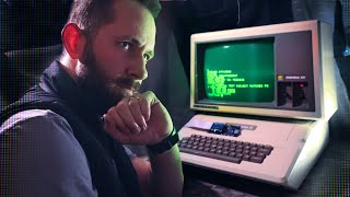 We Turned On The Abandoned Apple II!