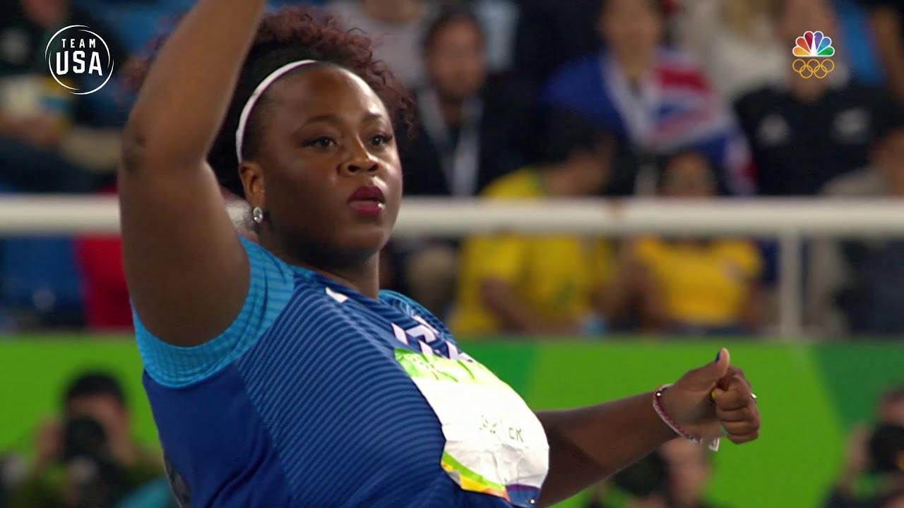 Michelle Carter Athlete >> Team Usa Remembering Rio Michelle Carter Shot Put