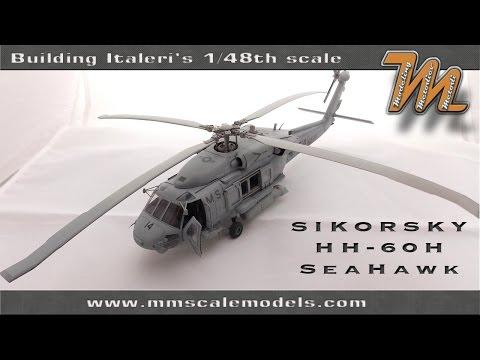 Building Italeri's 1/48 HH-60H Sea Hawk scale model helicopter