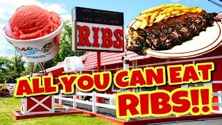ALL YOU CAN EAT RIBS!!