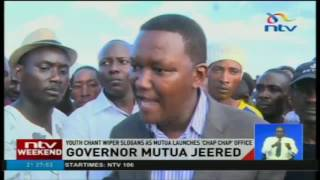 Machakos governor heckled by rowdy youth