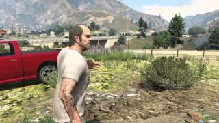 GTA V PS3 Gameplay / Walkthrough / Playthrough / 1080P Part 67 - Caida Libre