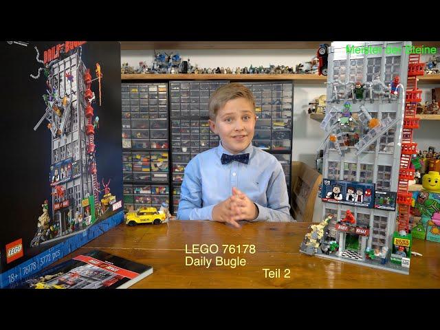 Meister der Steine, LEGO® Marvel Spider-Man – Daily Bugle, Teil 2
