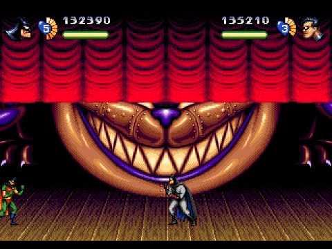Adventures of Batman and Robin, The SEGA Genesis/Mega Drive (2 players) - Real-Time Playthrough