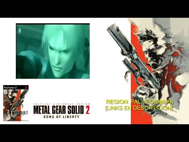 Metal Gear Solid 2 For Ps2 Highly Compressed 500mb
