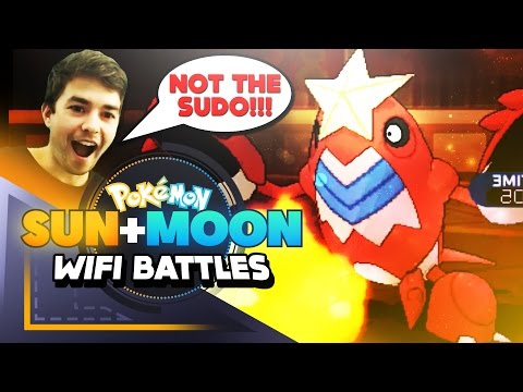 【Pokemon Sun & Moon Live Wifi Battle】 SUDOWOODO the GOD!!!