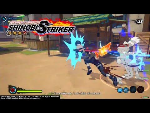 MS Kakashi Vs DMS Kakashi in Naruto To Boruto Shinobi Striker Season Pass 3 Gameplay  