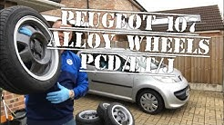 Peugeot 107 Fitting Alloy Wheels, How To Get The Size Right, Lowering Springs Toyota AYGO Citroen C1