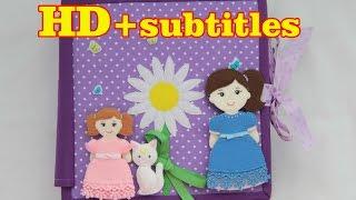 Quiet book #2 A Doll's House / развивающая книжка #2 КУКОЛЬНЫЙ ДОМИК в HD качестве(SUBTITLES IN ENGLISH AND TURKISH**Русские субтитры* Книга - лучший подарок, если это детская развивающая книжка из ткани..., 2016-07-10T10:58:38.000Z)