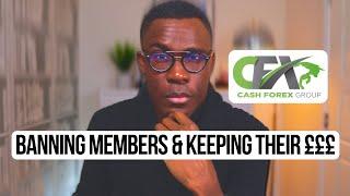 Cashfx Review 2021  SUSPENDING ACCOUNTS & KEEPING CUSTOMER £££