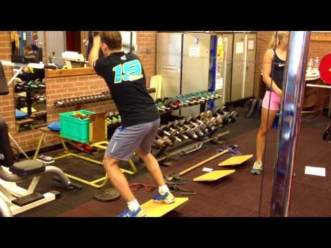 Xavier Siméon: Découvrez un entrainement en salle avec Eric Lambert