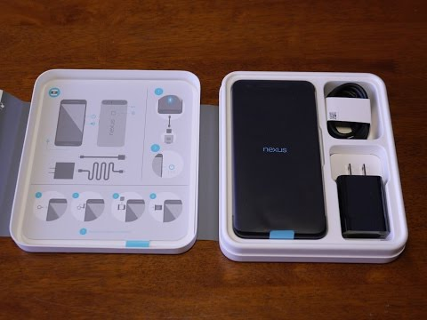 Google Nexus 6P unboxing